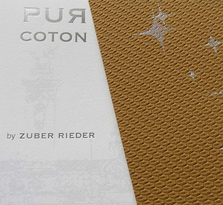 Pur coton - Papeterie Zuber Rieder