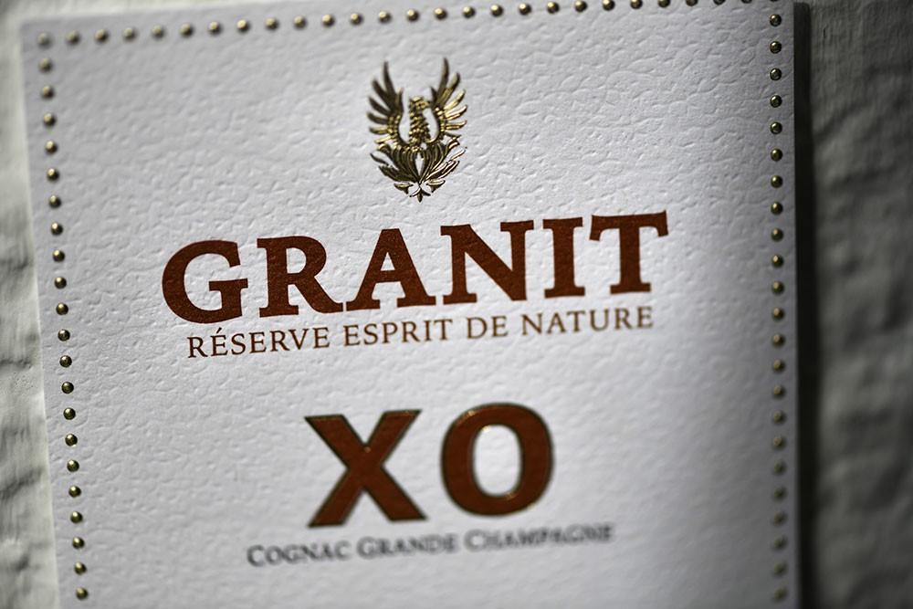 Granit---structures